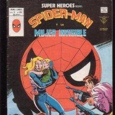 Cómics: SUPER HEROES VOL 2 Nº 124 SPIDERMAN Y LA MUJER INVISIBLE ( VERTICE ). Lote 19702476