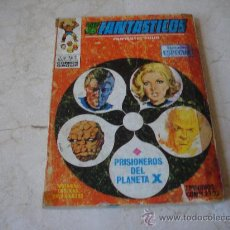 Cómics: LOS 4 FANTASTICOS Nº 4 - PRISONEROS DEL PLANETA X. Lote 19873840