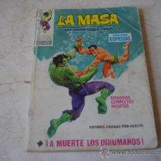 Cómics: LA MASA Nº 8 - ¡ A MUERTE LOS INHUMANOS !. Lote 19874408