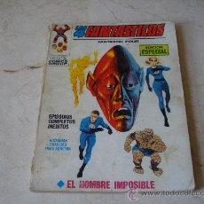 Cómics: LOS 4 FANTASTICOS Nº 6 - EL HOMBRE IMPOSIBLE. Lote 20032552