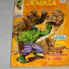 Cómics: VÉRTICE VOL. 1 LA MASA Nº 21. 1971. 25 PTS. DIFÍCIL!!!!!!!!. Lote 20098058
