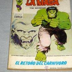 Cómics: VÉRTICE VOL. 1 LA MASA Nº 30. 30 PTS. 1973. EL MÁS DIFÍCIL DE LA COLECCIÓN EN .. Lote 20098119