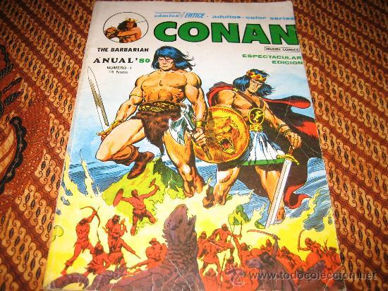 CONAN THE BARBARIAN - ANUAL 80 - VERTICE (Tebeos y Comics - Vértice - Conan)