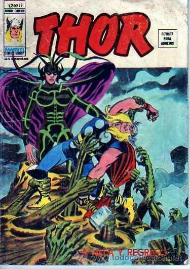 COMIC THOR VERTICE VOL.2 Nº 29 (Tebeos y Comics - Vértice - Thor)