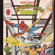 Cómics: SUPER HEROES VOL 2 Nº 109 - SPIDERMAN Y KUNG - FU / MATANZA EN LA 10ª AVENIDA. Lote 21267641