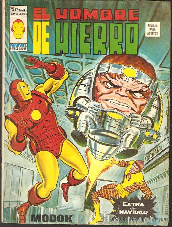 EL HOMBRE DE HIERRO EXTRA DE NAVIDAD 1976 (Tebeos y Comics - Vértice - Hombre de Hierro)