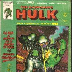 Cómics: THE RAMPAGING HULK Vº 1 Nº 12. Lote 20356336