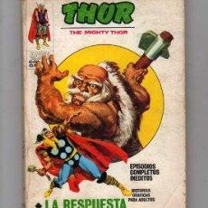 Cómics: THOR - THE MIGHTY THOR, LA RESPUESTA NUM.25 - 1972. Lote 21459549
