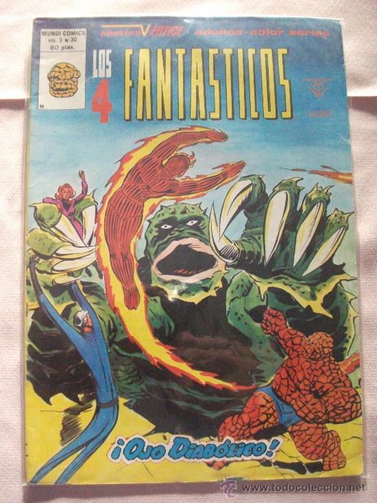 LOS 4 FANTASTICOS VOL 3 Nº 30 COMICS VERTICE (Tebeos y Comics - Vértice - 4 Fantásticos)