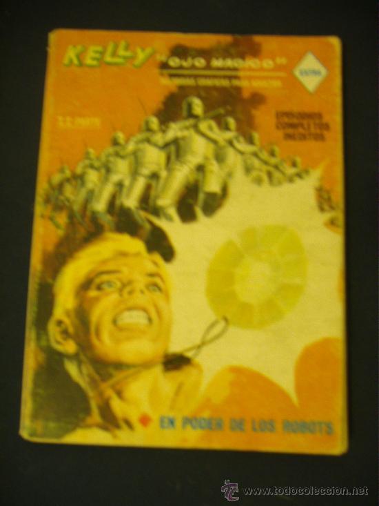 KELLY OJO MÁGICO Nº 15. 1969. 25 PTS. EDITORIAL VERTICE. (Tebeos y Comics - Vértice - Otros)