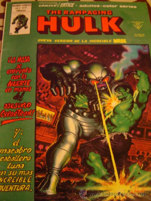 Cómics: HULK THE RAMPAGING VOL 1 Nº 12 LA MASA - Foto 1 - 26108958