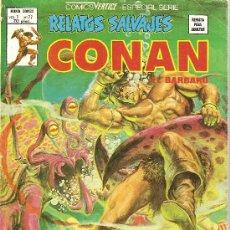 Cómics: CONAN EL BARBARO RELATOS SALVAJES VOL 1 Nº 77. Lote 27384293