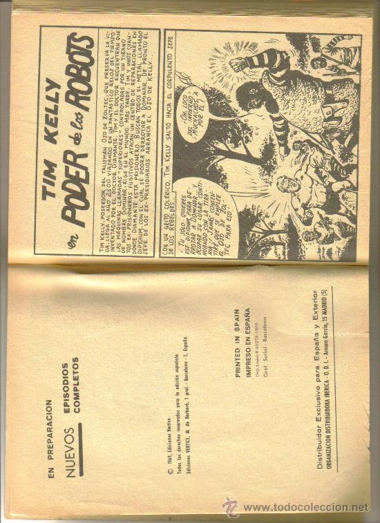 Cómics: KELLY OJO MÁGICO Nº 15. 1969. 25 PTS. EDITORIAL VERTICE. - Foto 2 - 23516366