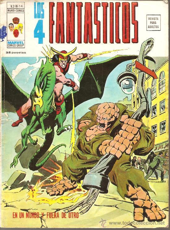 LOS 4 FANTASTICOS VOL. 2 Nº 14 (Tebeos y Comics - Vértice - 4 Fantásticos)
