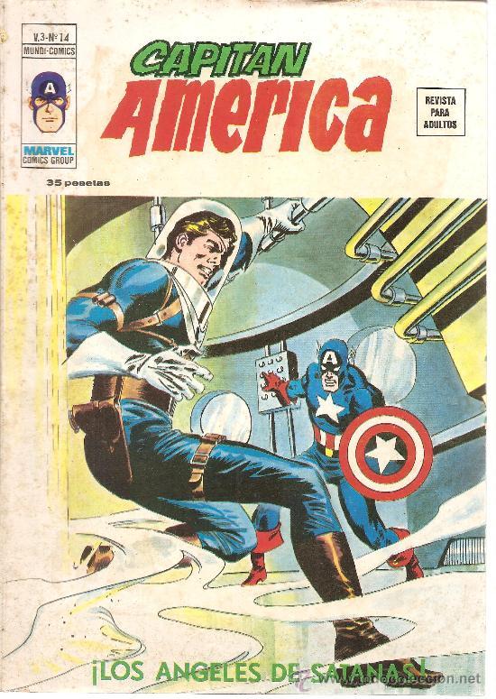 EL CAPITAN AMERICA VOL. 3 Nº 14 (Tebeos y Comics - Vértice - Capitán América)
