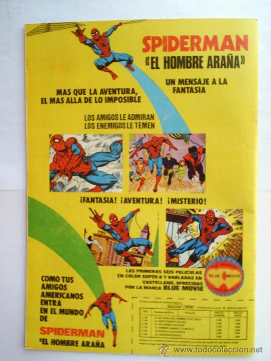 Cómics: EL MOTORISTA FANTASMA N.111 V. 2, MUNDI COMICS 1976 EDICIONES VERTICE - Foto 2 - 20989276