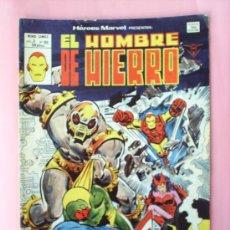 Cómics: EL HOMBRE DE HIERRO N.65 V.2,MUNDI COMICS EDITORIAL VERTICE 1980. Lote 20995686