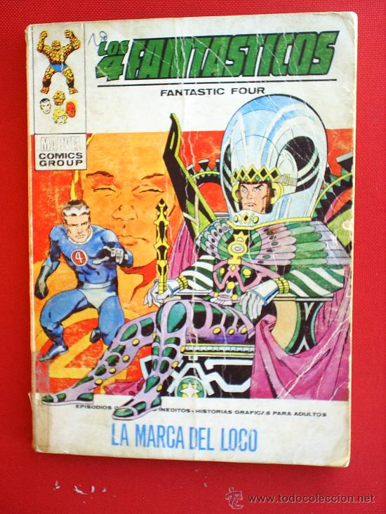 EDICIONES INTERNACIONALESN.41 , LOS 4 FANTASTICOS , VERTICE 1973 MARVEL COMICS GROUP (Tebeos y Comics - Vértice - 4 Fantásticos)