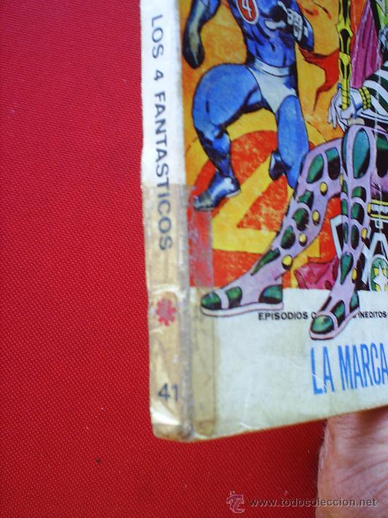Cómics: EDICIONES INTERNACIONALESN.41 , LOS 4 FANTASTICOS , VERTICE 1973 MARVEL COMICS GROUP - Foto 4 - 21028500