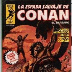 Cómics: SUPER CONAN Nº 13. LA ESPADA SALVAJE DE CONAN EL BÁRBARO.1ª EDICIÓN 1982. PLANETA.. Lote 21078550