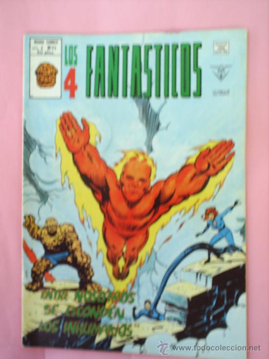 LOS 4 FANTASTICOS N.25 V.3 , MUNDI COMICS VERTICE (Tebeos y Comics - Vértice - 4 Fantásticos)