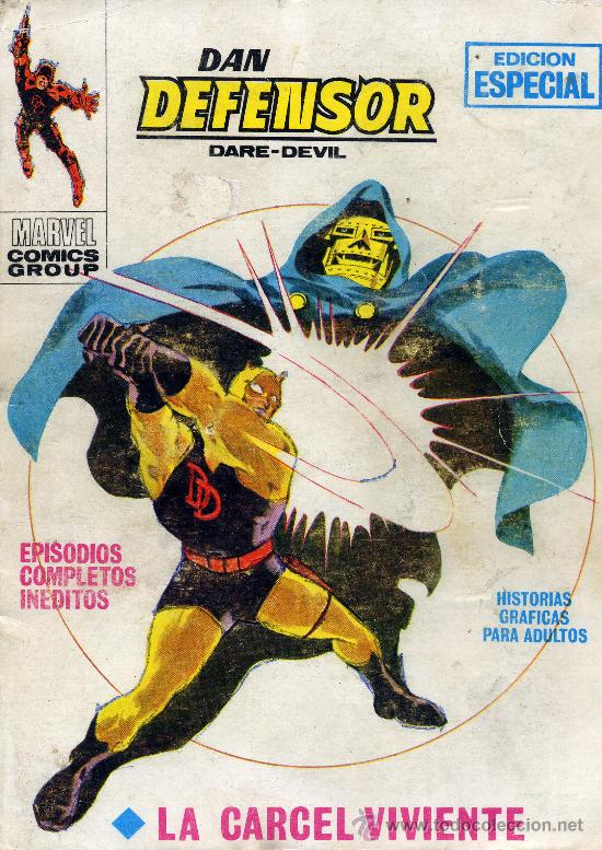 DAN DEFENSOR Nº15 (EDITORIAL VÉRTICE, 1969) (Tebeos y Comics - Vértice - Dan Defensor)