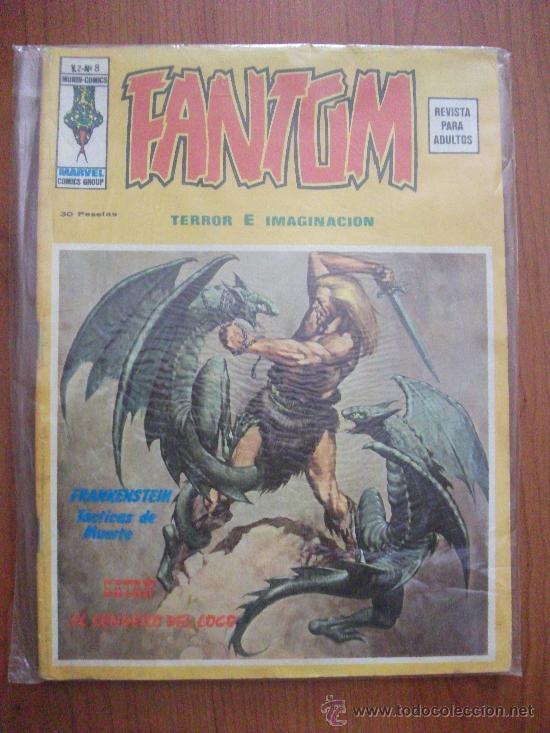 FANTOM V2 Nº 8 EDICIONES VERTICE (Tebeos y Comics - Vértice - Terror)