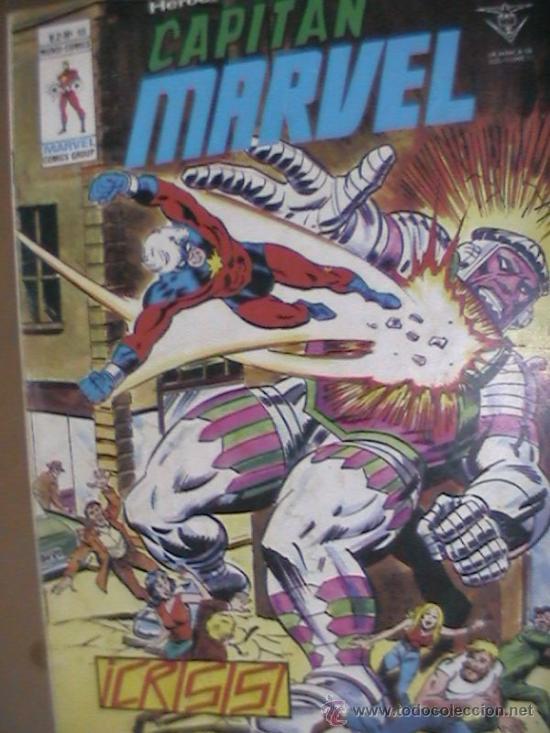 CAPITAN MARVEL Nº 49 (Tebeos y Comics - Vértice - V.2)