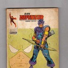 Cómics: (M-1) DAN DEFENSOR , LA MARCA DE OJO DE HALCON, NUM 44, EDICIONES VERTICE 1973. Lote 27230570
