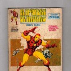 Cómics: (M-1) EL HOMBRE DE HIERRO, IRON MAN, LA COLERA DEL DRAGON BLANCO NUM. 18 , EDICIONES VERTICE 1971. Lote 27230569