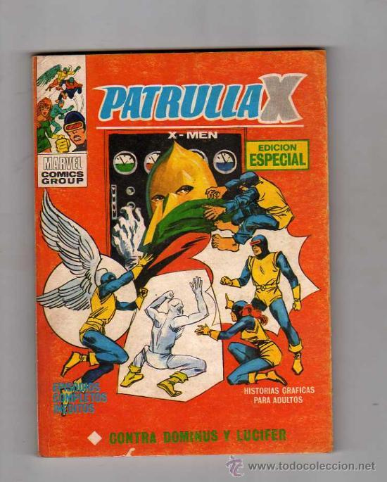 (M-1) PATRULLA X , X-MEN, CONTRA DOMINUS Y LUCIFER, NUM. 9 , EDICIONES VERTICE, 1974 (Tebeos y Comics - Vértice - Patrulla X)