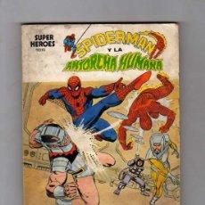 Cómics: (M-1) SPIDERMAN Y LA ANTORCHA HUMANA, NUM. 2 , EDICONES VERTICE 1974. Lote 25807758