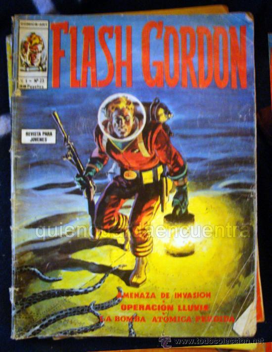 FLASH GORDON V 1 Nº 23 DE VÉRTICE 1974 (Tebeos y Comics - Vértice - Flash Gordon)