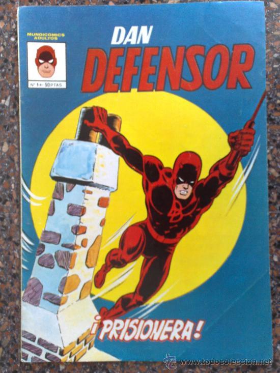 DAN DEFENSOR NUMERO 1. MUNDICOMICS ADULTOS. EDICIONES VERTICE. (Tebeos y Comics - Vértice - Dan Defensor)