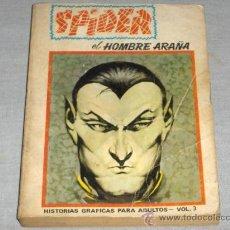 Cómics: VÉRTICE VOL. 1 SPIDER EDICIÓN ESPECIAL Nº 3. 1972. 50 PTS. DIFÍCIL!!!!!!!!!!!!. Lote 22086980
