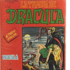 Comics : LA TUMBA DE DRÁCULA VOLUMEN 2 - Nº1. Lote 22228740