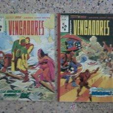 Cómics: LOS VENGADORES - VERTICE - LOTE DE 2 NUMEROS.. Lote 26705217