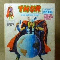 Cómics: COMIC, THOR, MARVEL, EL MUNDO ENLOQUECIDO, VERTICE, 1971, Nº 15. Lote 22346824