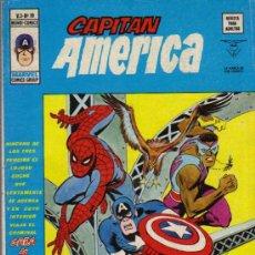 Cómics: LOTE DE 5 EJ. CAPITAN AMERICA V.3 - ED.VERTICE 1974 (VER DETALLE). Lote 65787315