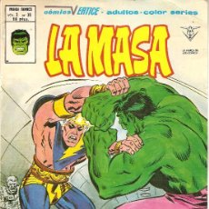 Cómics: LA MASA VOL. 3 Nº 38. Lote 27384303
