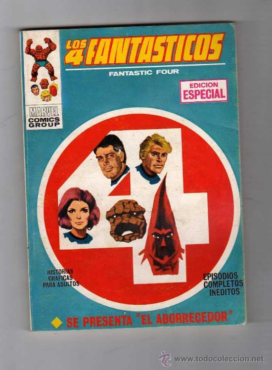 (M-1) LOS 4 FANTASTICOS NUM. 11 - EDICION ESPECIAL , EDC VERTICA 1969 , (Tebeos y Comics - Vértice - 4 Fantásticos)
