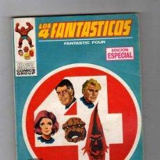 Cómics: (M-1) LOS 4 FANTASTICOS NUM. 11 - EDICION ESPECIAL , EDC VERTICA 1969 , . Lote 26643041