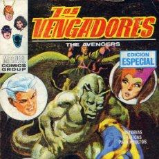 Cómics: LOS VENGADORES Nº18 (EDITORIAL VÉRTICE, 1969) TACO. PORTADA DE LÓPEZ ESPI. Lote 22616556