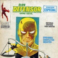 Cómics: DAN DEFENSOR Nº21 (VÉRTICE, 1968). TACO. Lote 22665565