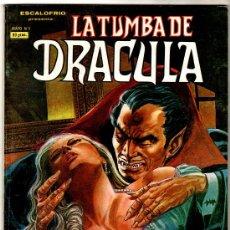 Cómics: ESCALOFRIO PRESENTA: LA TUMBA DE DRACULA Nº 4 - 68 PGS. VERTICE 1980, JOHN BUSCEMA,GENE COLAN. Lote 23095472