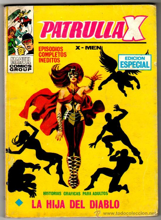 PATRULLA X V-1,X MEN, Nº 22, VERTICE 128 PGS. (Tebeos y Comics - Vértice - Patrulla X)