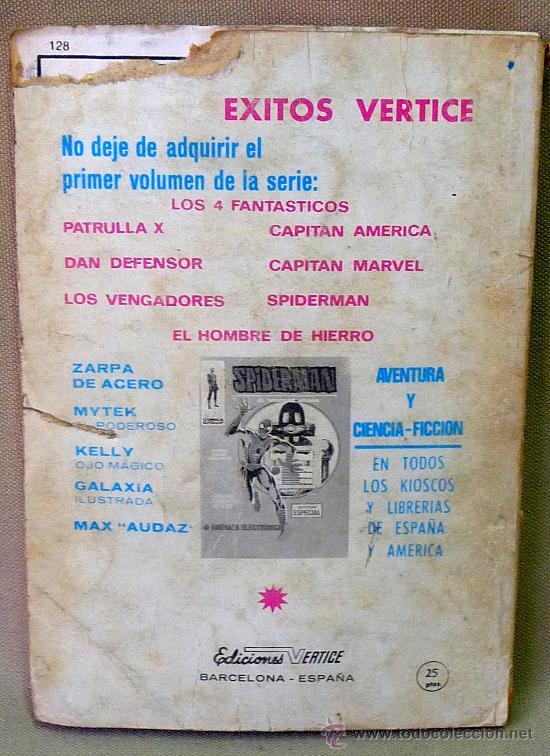 Cómics: COMIC, EL HOMBRE DE HIERRO, CONTRAEL MINOTAURO, Nº10, VERTICE, - Foto 2 - 23607595