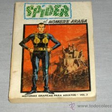 Cómics: VÉRTICE VOL. 1 EDICIÓN ESPECIAL SPIDER Nº 2. 1973. 50 PTS. 288 PÁGINAS. DIFÍCIL!!!!!!!!!!. Lote 23217866