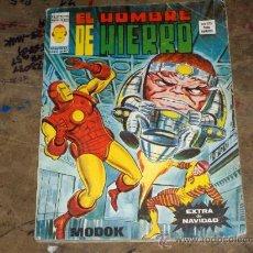 Cómics: VÉRTICE VOL. 2 EL HOMBRE DE HIERRO EXTRA NAVIDAD 1976. PORTES GRATIS.. Lote 23309486