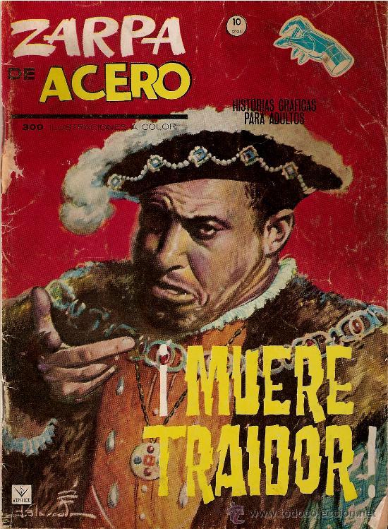 ZARPA DE ACERO. (Tebeos y Comics - Vértice - Otros)
